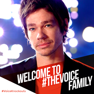 "Nate Ruess joined ""The Voice: Season Eight"" just in time for the Knockout Rounds to begin. (Photo property of NBC)"