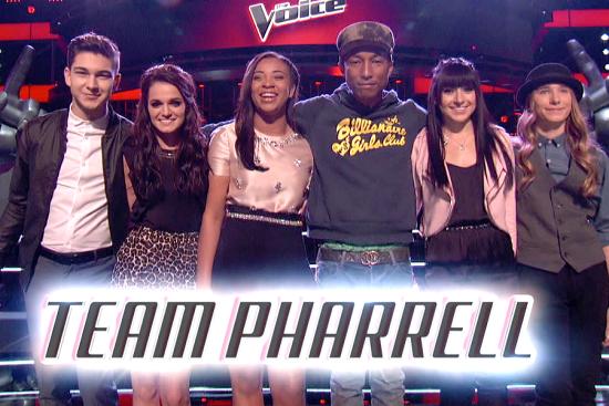 Team Pharrell The Voice Season Eight