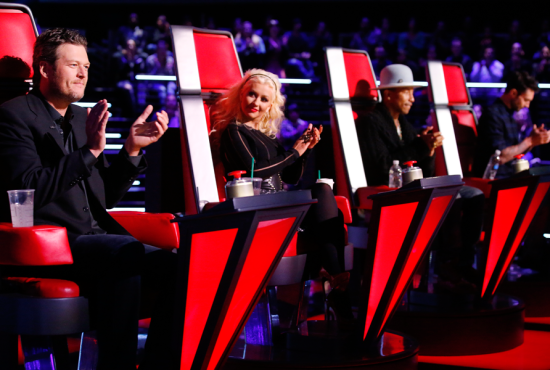 The Voice Season Eight coaches