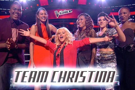 Team Christina The Voice Season Eight
