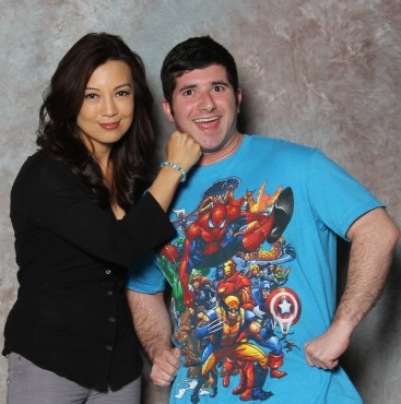 """It was truly an honor to meet Ming-Na Wen. She is an incredible woman and """"Agent of S.H.I.E.L.D."""" (Photo property of Epic Photo Ops)"""
