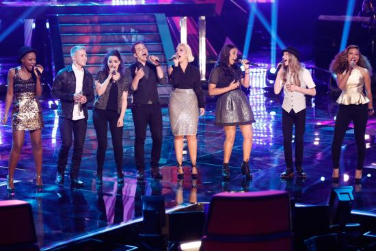 The Voice Season Eight Top 8