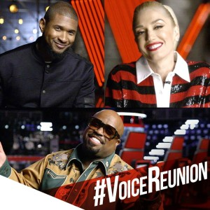 "CeeLo, Usher & Gwen return to ""The Voice"""