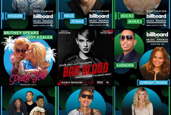 Ludacris & Christy Teigan Billboard Music Awards
