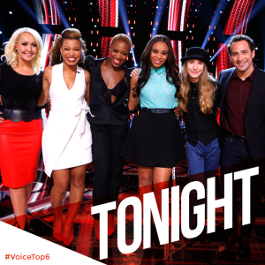 """The Voice: Season Eight"" Top Six perform twice!!"