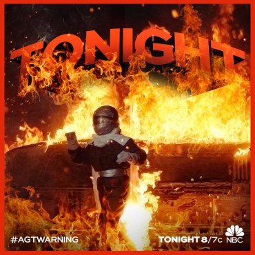 """For the second time this season, """"America's Got Talent's"""" Extreme acts turned up the heat with their electrifying stunts. (Photo property of NBC, FremantleMedia North America & SYCO TV)"""