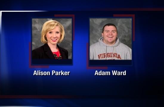 Alison Parker and Adam Ward CBS 7 News