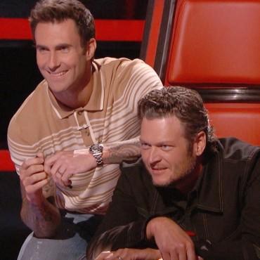 Adam and Blake The Voice