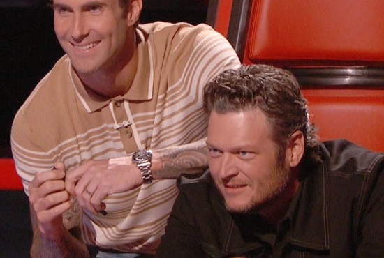 Adam and Blake The Voice