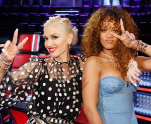 "Rihanna continues to entertain on night two of ""The Voice"" knockouts"