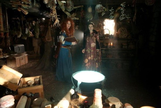 Belle and Merida Once Upon A Time