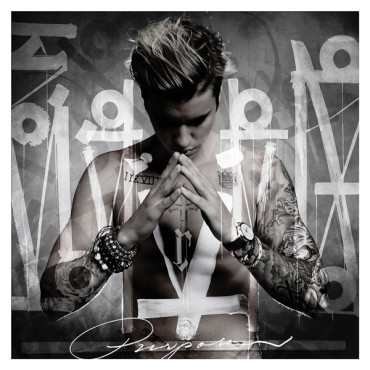 "Justin Bieber's ""Purpose"" definitely showcased how he matured as an artist. (Album cover property of Def Jam Recordings)"