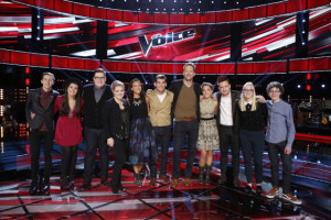 """The Voice: Season Nine"" Top 11 take the stage!"