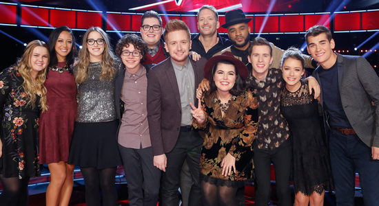 The Voice Season Nine Top 12