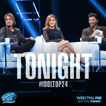 """""""American Idol"""" judges Keith Urban, Jennifer Lopez and Harry Connick Jr. introduced """"American Idol's"""" final Top 24. (Photo property of FOX, 19 Entertainment & FremantleMedia North America)"""