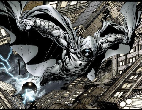 """Moon Knight's vigilante justice could be the ultimate monkeywrench to the Maestro's plans in """"Contest of Champions"""" (Artwork property of Marvel Comics)"""