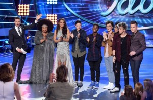 "The Top Eight sing ""The American Idol Songbook"""
