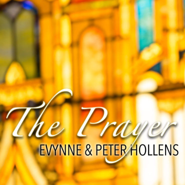 """Evynne & Peter Hollens' cover of """"The Prayer"""" is a must download! (Album cover property of the Hollens)"""