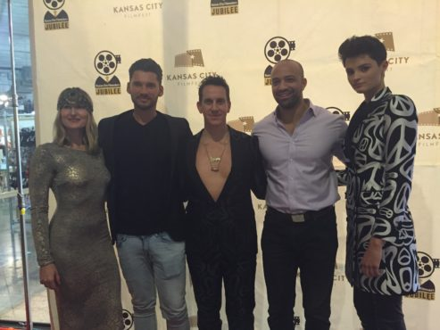 Jeremy Scott and friends at KC Film Fest