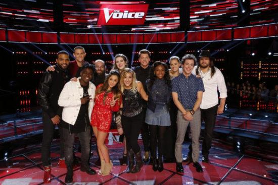 The Voice Season 10 Top 12