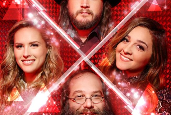 """Either Adam, Alisan, Laith or Hannah will become the winner of """"The Voice: Season 10"""" tonight. (Photos and graphics are property of NBC & MGM TV)"""