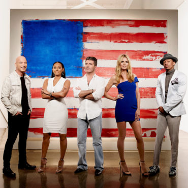 """The """"America's Got Talent"""" crew pose together before the Live Shows! (Photo property of NBC)"""