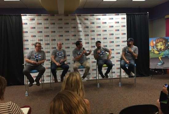 The Big Slick Boys (Eric Stonestreet, David Koechner, Rob Riggle, Paul Rudd & Jason Sudeikis) returned to Kansas City for one incredible weekend. (Photo property of Jacob Elyachar)