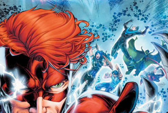 Wally West returns to the Titans