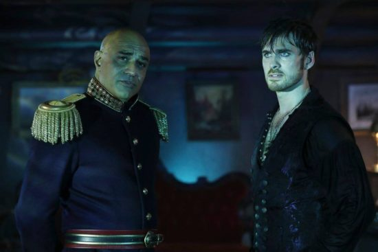 Captain Hook meets Captain Nemo Once Upon A Time