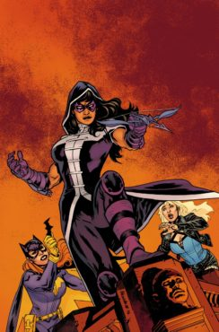Will Huntress divide the team as the new Oracle's identity is revealed? (Artwork property of DC Comics)