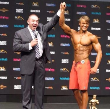 James Cant wins his IFBB card