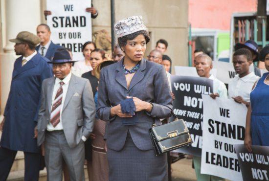 Terry Pheto as Winnie Mandela