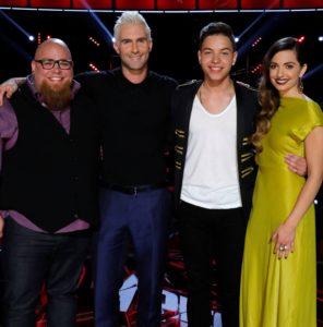 "Teams Adam & Blake perform as ""The Voice: Season 12"" Instant Save debuts"